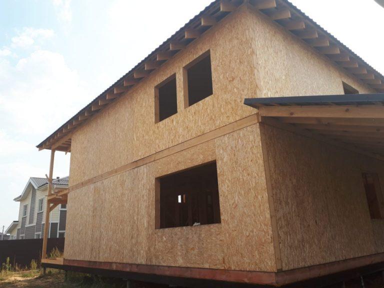 Строительство двухэтажного дома. Московская область г. Щёлково