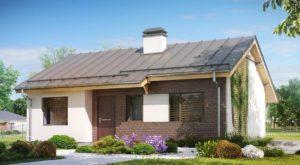 Дом из сип H1-106 м2