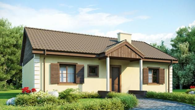 дом из сип H1-120 м2