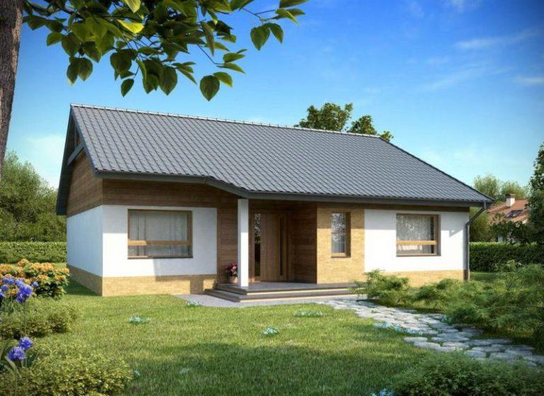 дом из сип H1-127 м2