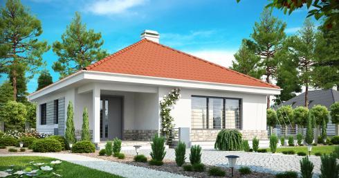 дом из сип H1-128 м2