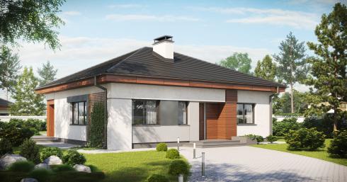 дом из сип H1-132 м2