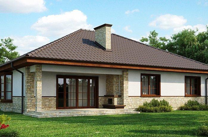 дом из сип H1-138-1 м2