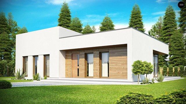 дом из сип H1-148 м2