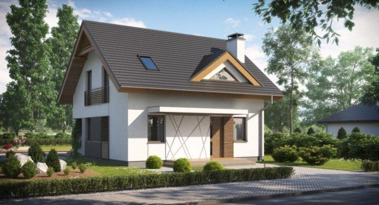 дом из сип H2-139 м2