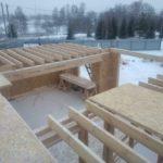 Строительство двухэтажного дома. Московская область г. Ступино 14