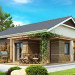 дом из сип H1-112 м2
