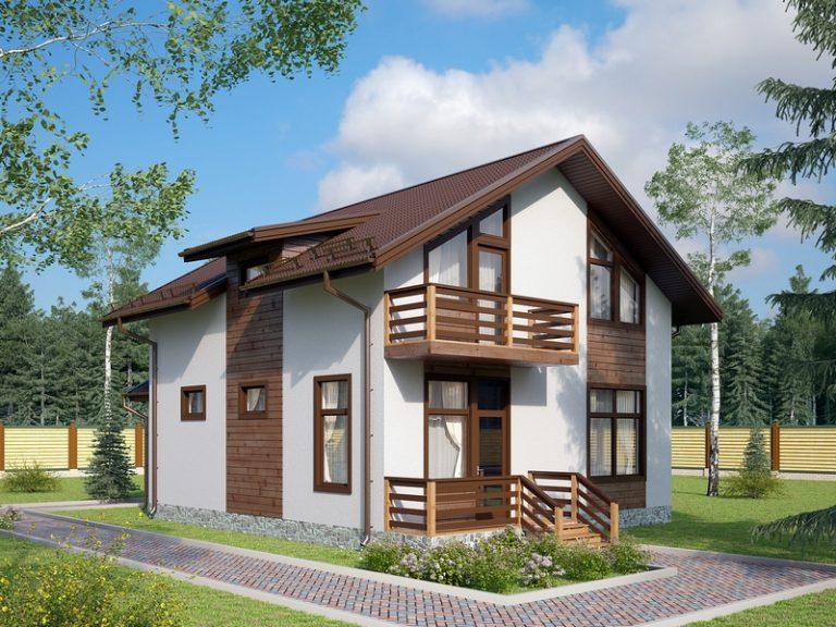 дом из сип H2-157-1 м2