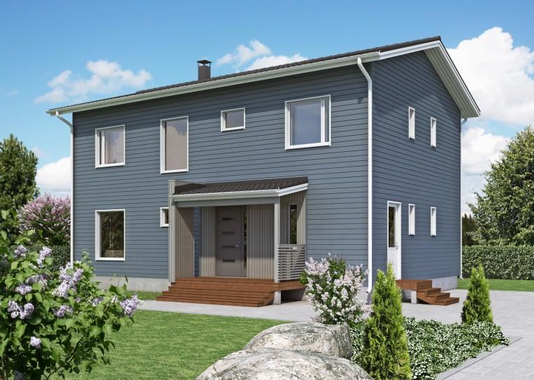 дом из сип H2-205 м2