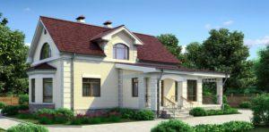 Дом из сип Н2-185 м2