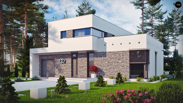 дом из сип H1-316 м2 01