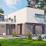 дом из сип H1-316 м2 02