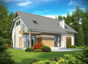 Дом из сип H2-252 м2