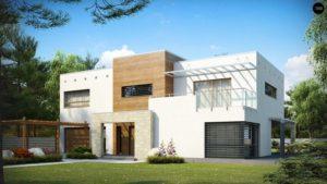 Дом из сип H2-347 м2