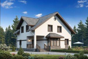 Дом из сип Н2-195 м2