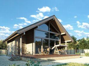 Проект дома из сип ВН-156