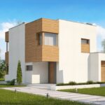 Проект дома из сип 1 HH 136