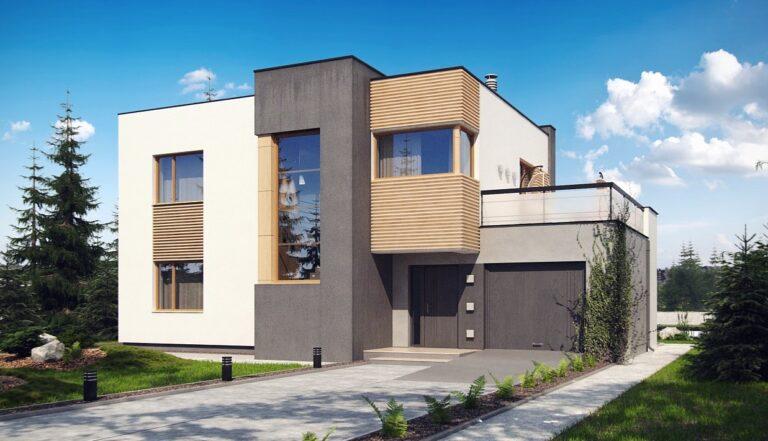 Проект дома из сип 1 HH 163
