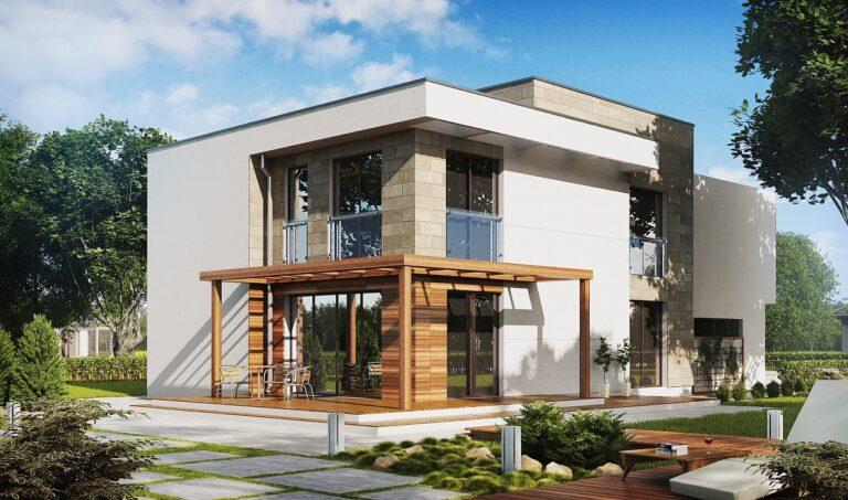 Проект дома из сип 1 HH 221