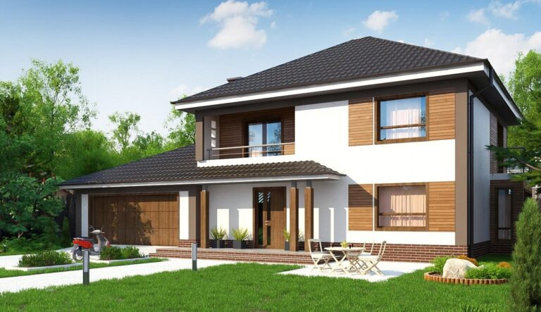 Проект дома из сип 1 SH 226