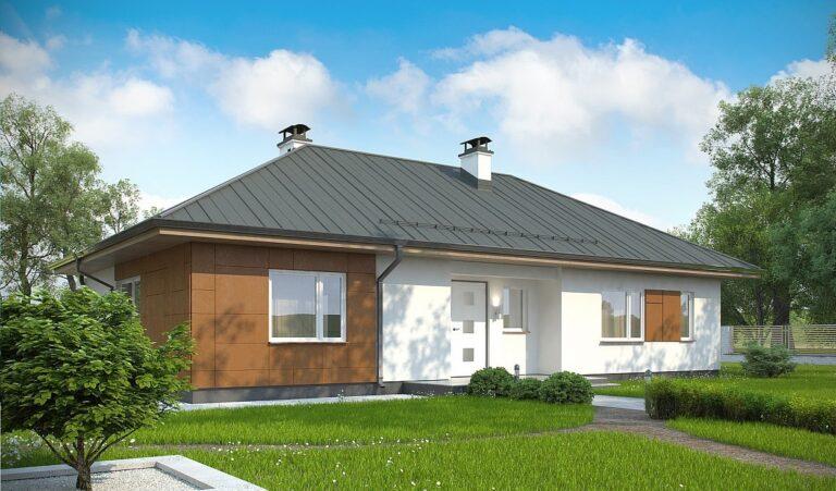 Проект дома из сип 2 SH 115
