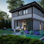 Проект дома из сип 3 SH 99