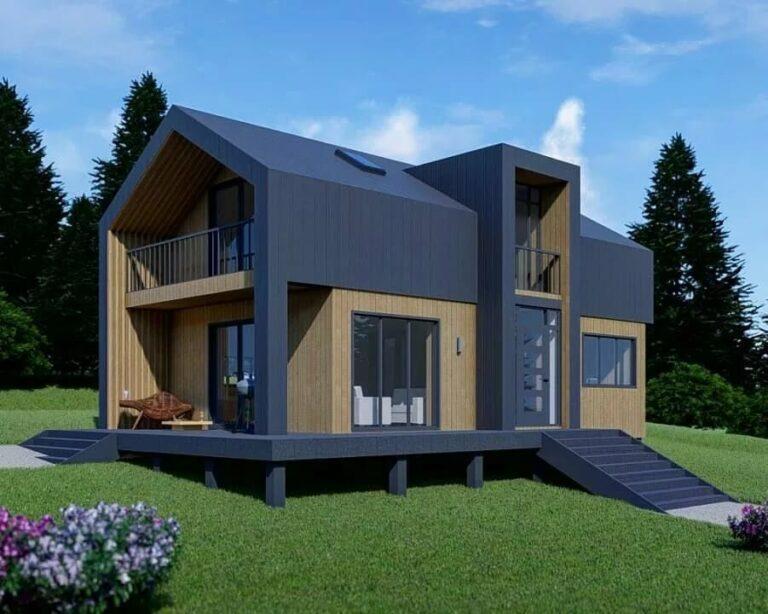 Проект дома из сип BH 120